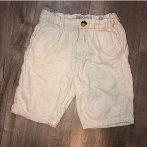 EUC Zara boys size 6 shorts